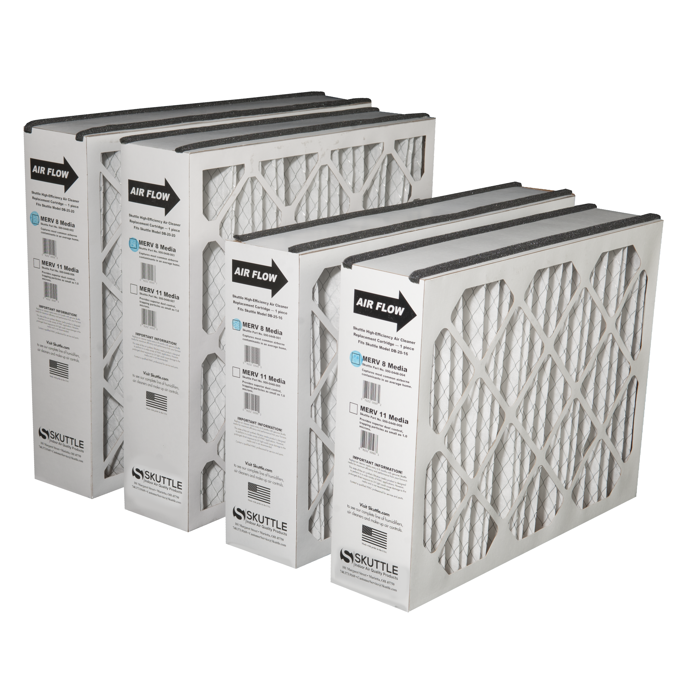 High Efficiency Air Cleaners | Skuttle